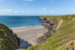 Caerfai Bay West Wales UK Stock Images