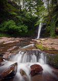 Caerfanell Waterfall, Talybont Stock Photos
