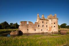 Caerlaverock城堡、邓弗里斯和盖洛韦,苏格兰 库存图片