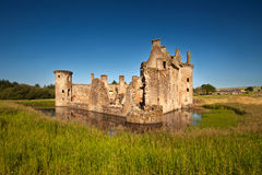 Caerlaverock城堡、邓弗里斯和盖洛韦,苏格兰 免版税库存照片