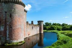 caerlaverock κάστρο Σκωτία Στοκ εικόνα με δικαίωμα ελεύθερης χρήσης