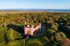 Caerlaverock Castle στοκ φωτογραφία