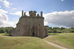 Caerlaverock Castle 3. Caerlaverock Caslte, Dumfries and Galloway, Scotland, UK royalty free stock images