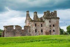 Caerlaverock Castle, Dumfries, Σκωτία στοκ φωτογραφία
