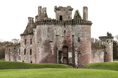 Caerlaverock Castle. Dumfries - Scotland - Britain Stock Photos