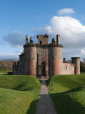 Caerlaverock Castle, Scotland Stock Photo
