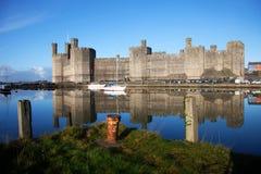 Caernafon Castle Stock Image