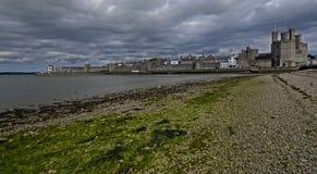 Caernarfon, Уэльс, Великобритания Стоковая Фотография RF