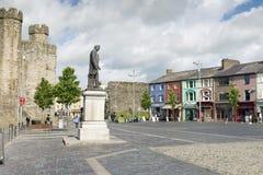 Caernarfon lizenzfreies stockbild