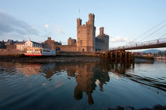 Caernarfon,castle Royalty Free Stock Images