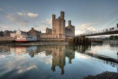 Caernarfon,castle Stock Images
