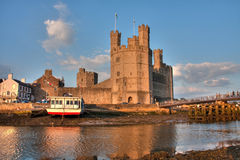 Caernarfon castle Royalty Free Stock Photos