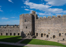 Caernarfon Castle, North Wales Royalty Free Stock Images