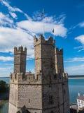 Caernarfon Castle, North Wales Royalty Free Stock Photo