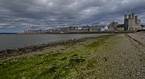 Caernarfon, Galles, Regno Unito Fotografia Stock Libera da Diritti