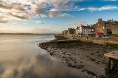 Caernarfon, Gwynedd, Уэльс, Великобритания стоковое изображение rf