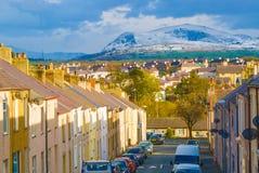 Caernarfon, País de Gales Fotografía de archivo libre de regalías