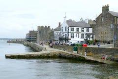 Caernarfon Wales. Royalty Free Stock Image