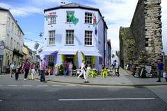 Caernarfon, Wales. Stock Photo