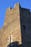 Caerphilly城堡,威尔士 库存图片
