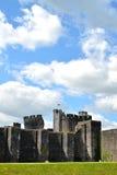 caerphilly κάστρο στην Ουαλία Στοκ Εικόνες