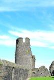 caerphilly κάστρο στην Ουαλία Στοκ Φωτογραφίες