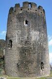 caerphilly κάστρο Στοκ εικόνα με δικαίωμα ελεύθερης χρήσης