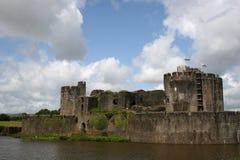 caerphilly κάστρο Στοκ εικόνες με δικαίωμα ελεύθερης χρήσης