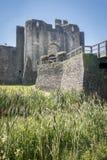 caerphilly κάστρο Στοκ Εικόνες