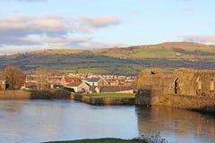 Caerphilly Wales Royaltyfri Bild