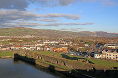 Caerphilly, Wales Stock Photography