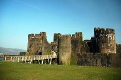 caerphily замок Стоковое Фото