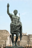Caesar Augustus, ancient statue. Rome, Italy Royalty Free Stock Photography