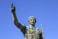 Caesar Augustus a Roma fotografia stock libera da diritti