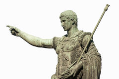 Caesar Augustus Rome. Statue of Caesar Augustus in Rome, Italy royalty free stock photography
