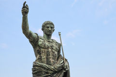 Caesar Augustus, statue in Rome, Italy Stock Photography