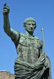 Caesar Augustus Traianus der Führer Lizenzfreie Stockfotografie