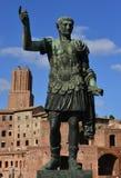 Caesar Augustus Traianus the victorious Royalty Free Stock Photos