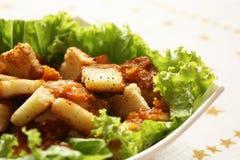 Caesar chicken salad Stock Images