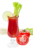 Caesar cocktail royalty free stock photography