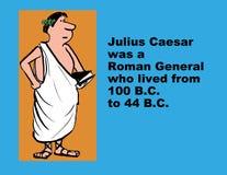 caesar julius vektor illustrationer
