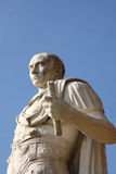 caesar julius staty royaltyfri bild
