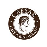 Caesar kawiarnia & restauracja logo royalty ilustracja