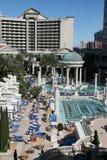 caesar las pool s vegas Royaltyfria Bilder