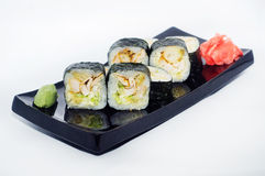 Caesar maki sushi Royalty Free Stock Photos