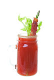 Caesar med bacon Royaltyfria Bilder