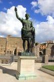 Caesar på fora royaltyfria foton