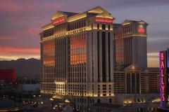 Caesars Palace in Las Vegas stock photography