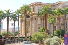 Caesar's Palace auf dem Vegas-Streifen in Las Vegas Stockbild