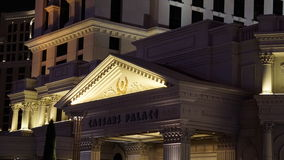Caesar's Palace Hotel and Casino in Las Vegas, Nevada Royalty Free Stock Photography